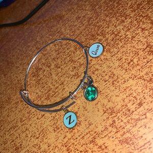 Charmed bracelets.